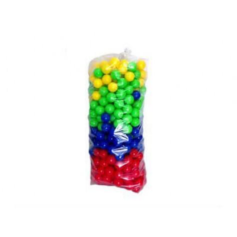 Kit 500 bolinhas coloridas