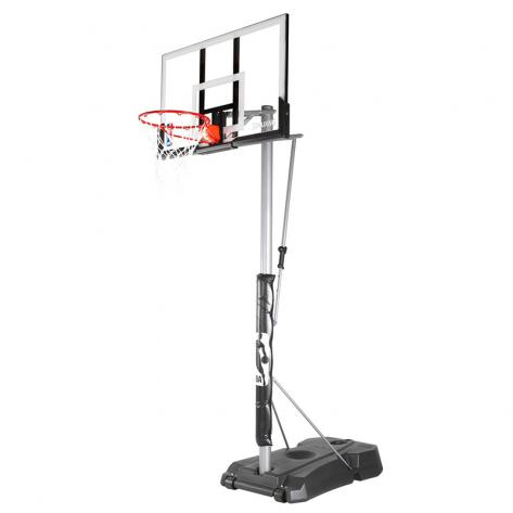 Tabela de Basquete Spalding Silver Vertical Pole Móvel NBA