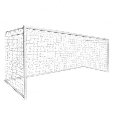 Trave de Futebol de Campo 7,32 x 2,44 x 1,00 Modelo Oficial Com Base