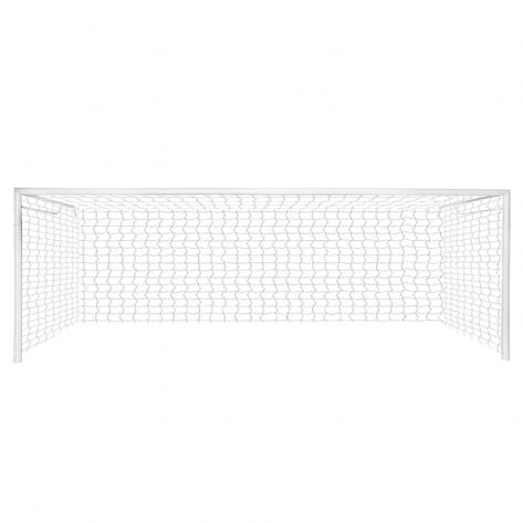 Trave de Futebol de Campo 7,32 x 2,44 x 1,00 Profissional para fixação em piso