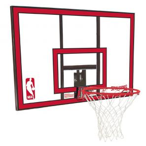 Tabela de Basquete Spalding Quadro NBA Policarbonato