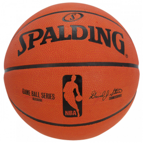 Bola Spalding NBA Game Ball Replica Outdoor Borracha Sz 7