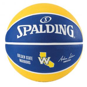 Bola Golden State Warriors Basquete Spalding NBA