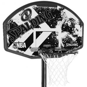 """Tabela de Basquete Spalding NBA 44"""" Alley-oppc / suporte e base Polipropileno"""