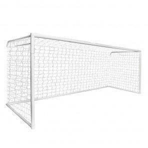 Trave de Futebol de Campo 7,32 x 2,44 x 1,50 Modelo Oficial Com Base