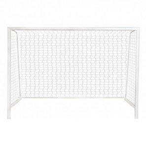 Trave de Futsal 3,00 x 2,00 Modelo Desmontável Com Bucha de Espera para Piso