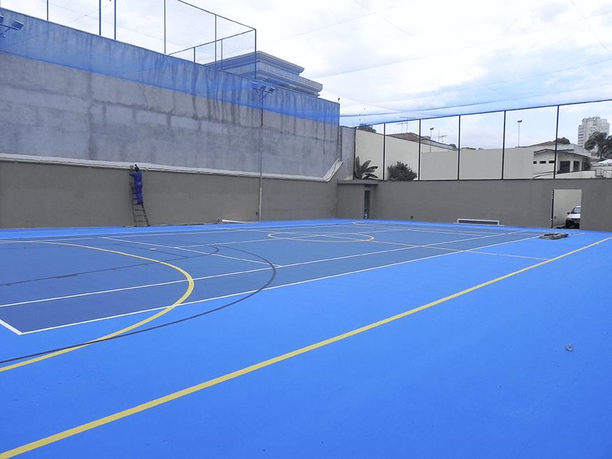 Quadras Esportivas Pisos de Concreto